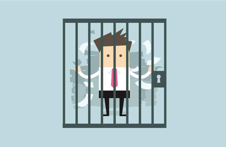 刑務所に収監された人は5年間許可取得が出来ない