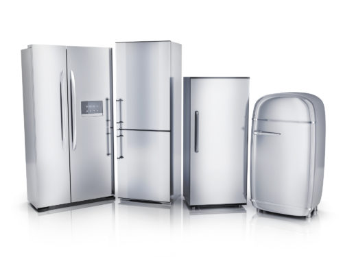 並べられた冷蔵庫
