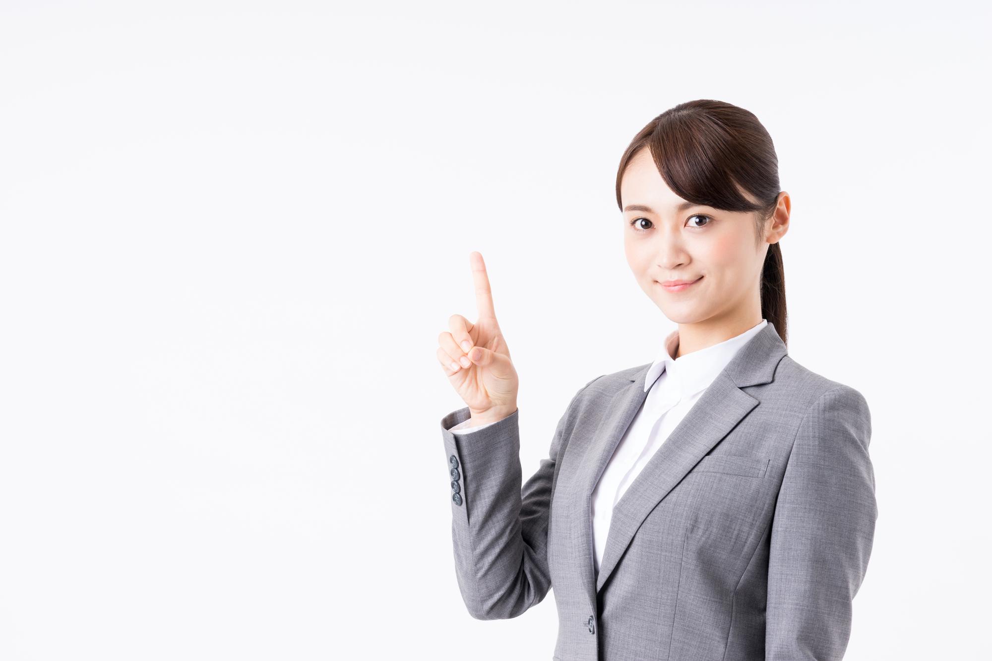 押し買い業者に誤解されないための4つのルールを教えてくれる女性。