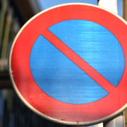 駐車禁止の標識