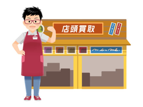 3191店頭買取(リサイクルショップ)