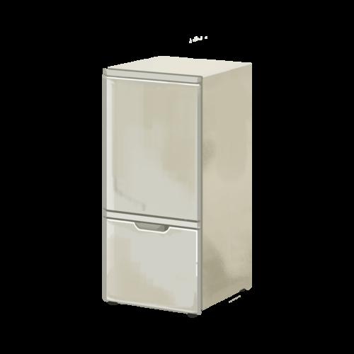 古びた冷蔵庫