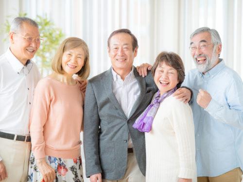 高齢者の集まり